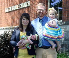 Pastor Nathan and family